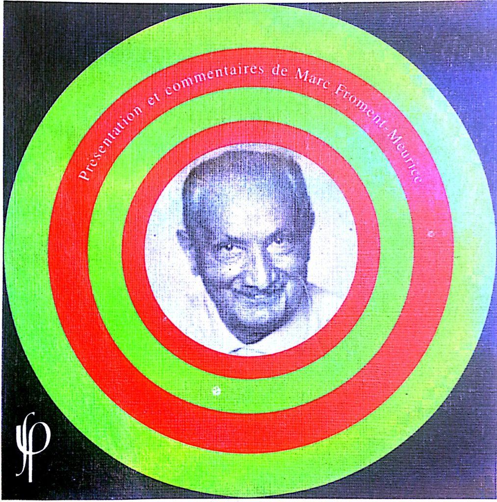 Imagen psicodélica de Heidegger